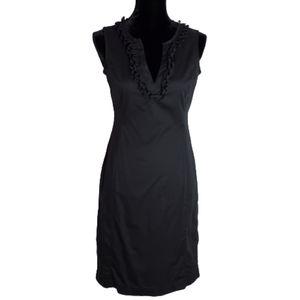 Talbots Black Sleeveless Sheath Dress Size 4